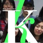K MAGAZINE logo