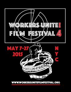 workers unite film festival poster