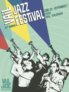 Vail Jazz poster