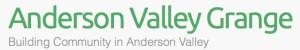 anderson valley grange logo